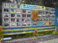 До 26 річниці незалежності України в міському парку під час масових гулянь для мешканців міста Бершадська центральна районна бібліотека представляла стенди з фотосвітлинами «В нас єдина мета – Україна свята,...