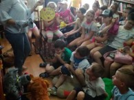 Прем'єра лялькової вистави «Колобок – супермен».  12 червня вихованці пришкільного табору «З.О.Д. І.А.К.» ЗОШ №3 (загони «Барви сонячного літа» та «Промінчики») завітали на прем'єру лялькової вистави лялькового театру «Буратіно»...