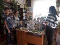 4 жовтня – Всесвітній День захисту тварин. Бібліотекар Світлана Єгорова провела для юних читачів цікавий огляд літератури. Вона розповіла присутнім про історію свята, яке святкують 4 жовтня, в день […]