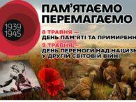 8–9 травня Україна відзначає День перемоги над нацизмом у Другій світовій війні. День Перемоги традиційно належить до найдорожчих свят у всіх великих та маленьких українських містах і селах. Перемога над […]